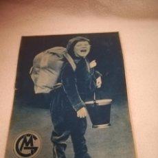 Cómics: GENTE MENUDA. SUPLEMENTO INFANTIL DE BLANCO Y NEGRO. 15 SEPTIEMBRE 1935. Lote 184388902