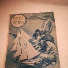 Cómics: GENTE MENUDA. SUPLEMENTO INFANTIL DE BLANCO Y NEGRO. 4 AGOSTO 1935. Lote 184389101