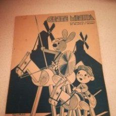 Cómics: GENTE MENUDA. SUPLEMENTO INFANTIL DE BLANCO Y NEGRO. 2 JUNIO 1935. Lote 184389208