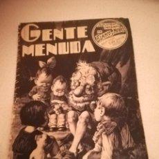 Cómics: GENTE MENUDA. SUPLEMENTO INFANTIL DE BLANCO Y NEGRO. 3 JULIO 1932. Lote 184389932