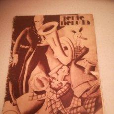 Cómics: GENTE MENUDA. SUPLEMENTO INFANTIL DE BLANCO Y NEGRO. 3 ABRIL 1932. Lote 184390316