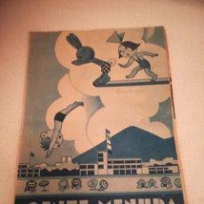 Cómics: GENTE MENUDA. SUPLEMENTO INFANTIL DE BLANCO Y NEGRO. 13 AGOSTO 1933. Lote 184390535