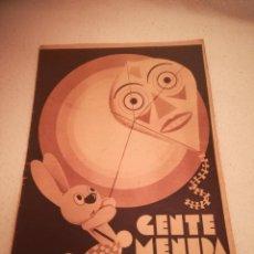 Cómics: GENTE MENUDA. SUPLEMENTO INFANTIL DE BLANCO Y NEGRO. 27 NOVIEMBRE 1932. Lote 184391012