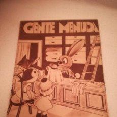 Cómics: GENTE MENUDA. SUPLEMENTO INFANTIL DE BLANCO Y NEGRO. 2 OCTUBRE 1932. Lote 184391162