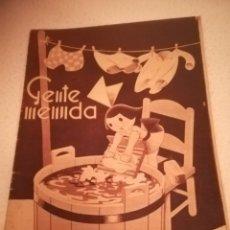 Cómics: GENTE MENUDA. SUPLEMENTO INFANTIL DE BLANCO Y NEGRO. 21 AGOSTO 1932. Lote 184391330