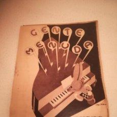 Fumetti: GENTE MENUDA. SUPLEMENTO INFANTIL DE BLANCO Y NEGRO. 5 FEBRERO 1933. Lote 184391738