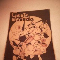 Cómics: GENTE MENUDA. SUPLEMENTO INFANTIL DE BLANCO Y NEGRO. 18 DICIEMBRE 1932. Lote 184391916
