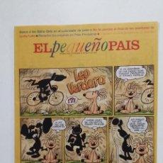 Fumetti: EL PEQUEÑO PAIS Nº 808. DOMINGO 25 DE MAYO DE 1997. TDKR27. Lote 184600341