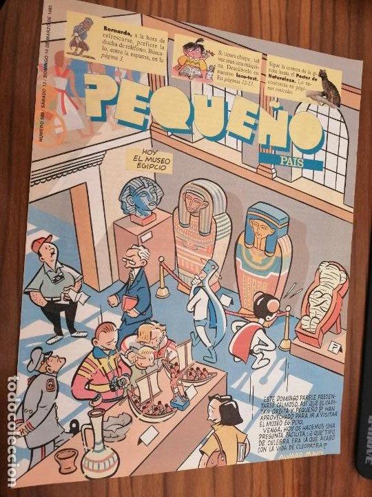 EL PEQUEÑO PAÍS 589. SUPLEMENTO DE COMICS DE EL PAIS. GRAPA. BUEN ESTADO (Tebeos y Comics - Suplementos de Prensa)