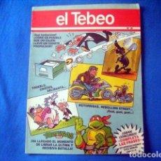 Cómics: COMIC EL TEBEO SUPLEMENTO DE EL PERIODICO Nº 34 REBOLLING STREET MOTORRISAS TINIEBLO LALOSA. Lote 186170648