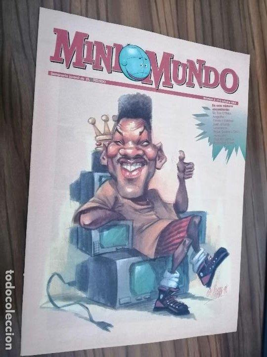 MINI MUNDO 2. SUPLEMENTO DE EL MUNDO. GRAPA. BUEN ESTADO. (Tebeos y Comics - Suplementos de Prensa)