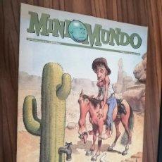 Cómics: MINI MUNDO 17. SUPLEMENTO DE EL MUNDO. GRAPA. BUEN ESTADO. . Lote 186411565