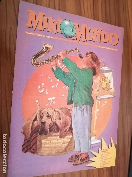 MINI MUNDO 8. SUPLEMENTO DE EL MUNDO. GRAPA. BUEN ESTADO. (Tebeos y Comics - Suplementos de Prensa)