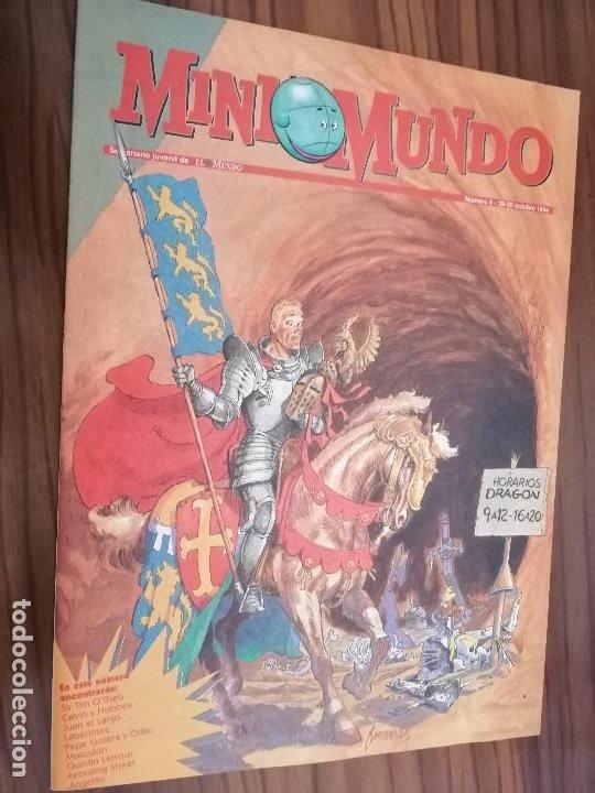 MINI MUNDO 5. SUPLEMENTO DE EL MUNDO. GRAPA. BUEN ESTADO. (Tebeos y Comics - Suplementos de Prensa)