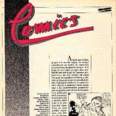 Cómics: COMICS. CLÁSICOS Y MODERNOS. EL PAÍS. AÑO 1988., FASCICULOS 1 AL 25. Lote 189898430