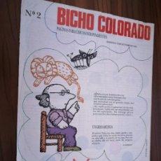 Cómics: BICHO COLORAO 2. EL INDEPENDIENTE. 4 PÁGINAS. BUEN ESTADO PERO ARRUGADO ARRIBA. Lote 190317403