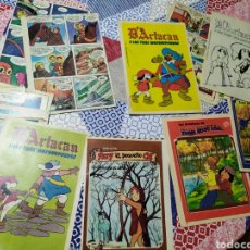 Cómics: LOTE HOJAS SUELTAS Y COMICS SUPLEMENTO DE REVISTAS DARTACAN RUY EL PEQUEÑO CID TOM SAWYER. Lote 190447997