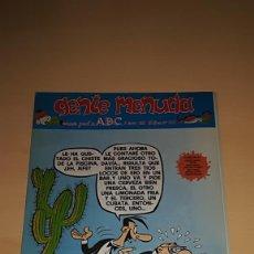 Cómics: GENTE MENUDA Nº 462 - 3 ENERO 1999 - SUPLEMENTO ABC. Lote 190864990