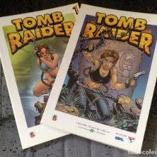 Fumetti: TOMB RAIDER Nº 1 Y 2 (BIBLIOTECA EL MUNDO - GRANDES HÉROES DEL CÓMIC) . Lote 192960911