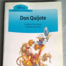 Cómics: DISNEY CLÁSICOS DE LA LITERATURA 10 DON QUIJOTE. Lote 193820802
