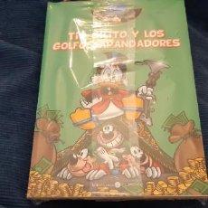 Cómics: LOTE 2 COMICS DISNEY DONALD Y DAISY TÍO GILITO Y GOLFOS APANDADORES PRECINTADO EL MUNDO. Lote 194219467