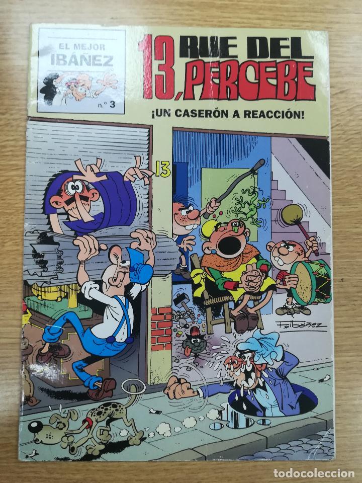 13 RUE DEL PERCEBE UN CASERON A REACCION (EL MEJOR IBAÑEZ #3) (Tebeos y Comics - Suplementos de Prensa)