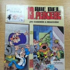 Cómics: 13 RUE DEL PERCEBE UN CASERON A REACCION (EL MEJOR IBAÑEZ #3). Lote 194329693