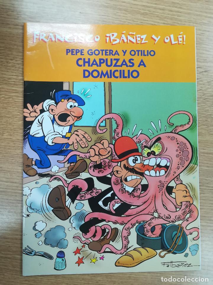PEPE GOTERA Y OTILIO CHAPUZAS A DOMICILIO (FRANCISCO IBAÑEZ Y OLE) (Tebeos y Comics - Suplementos de Prensa)