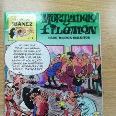 Cómics: MORTADELO Y FILEMON ESOS KILITOS MALDITOS (EL MEJOR IBAÑEZ #7). Lote 194329701