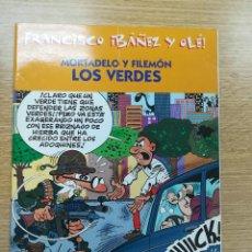 Cómics: MORTADELO Y FILEMON LOS VERDES (FRANCISCO IBAÑEZ Y OLE). Lote 194329705