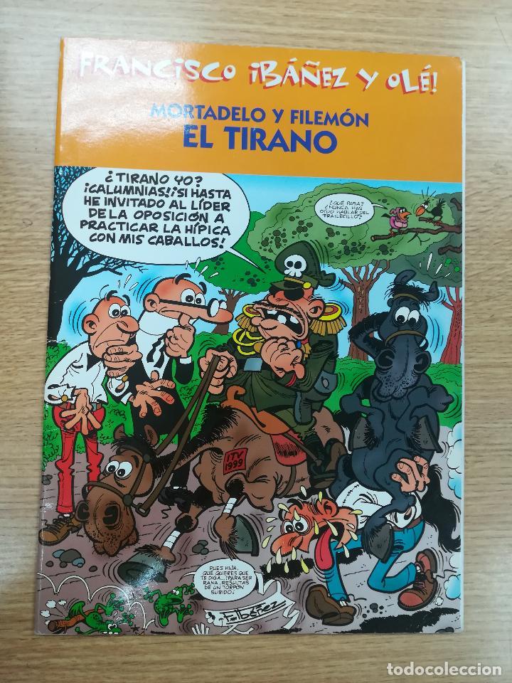 MORTADELO Y FILEMON EL TIRANO (FRANCISCO IBAÑEZ Y OLE) (Tebeos y Comics - Suplementos de Prensa)