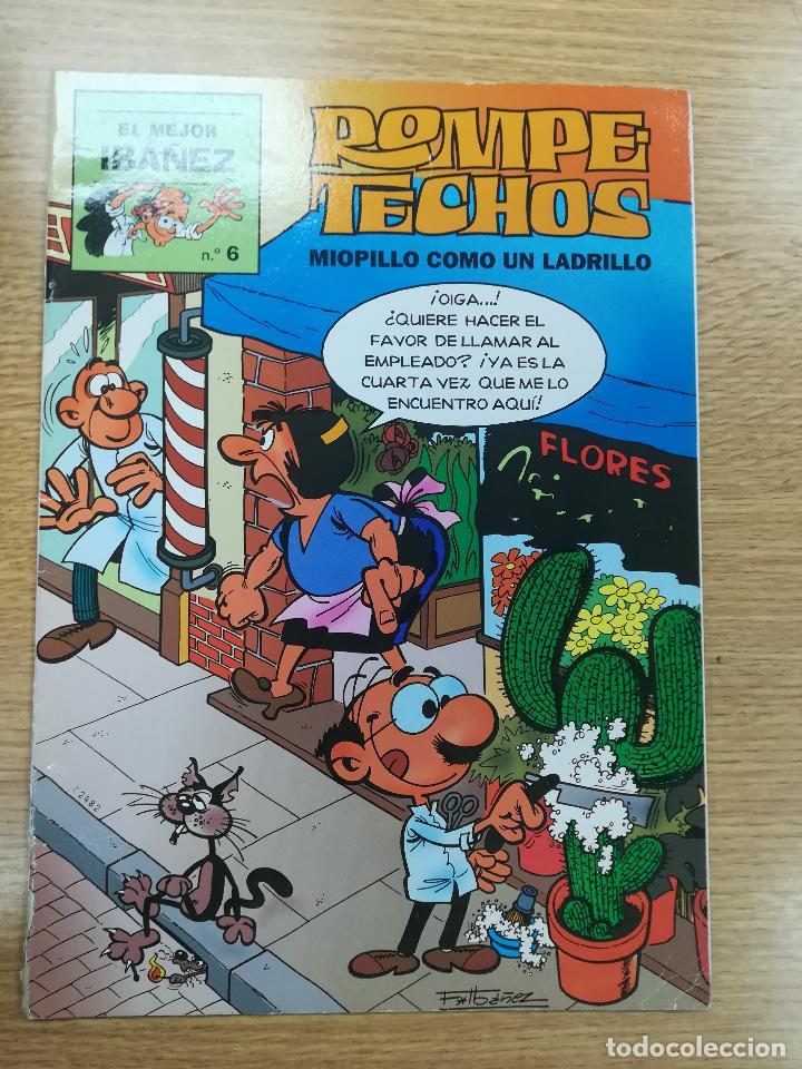 ROMPETECHOS MIOPILLO COMO UN LADRILLO (EL MEJOR IBAÑEZ #6) (Tebeos y Comics - Suplementos de Prensa)