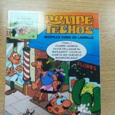 Cómics: ROMPETECHOS MIOPILLO COMO UN LADRILLO (EL MEJOR IBAÑEZ #6). Lote 194329710