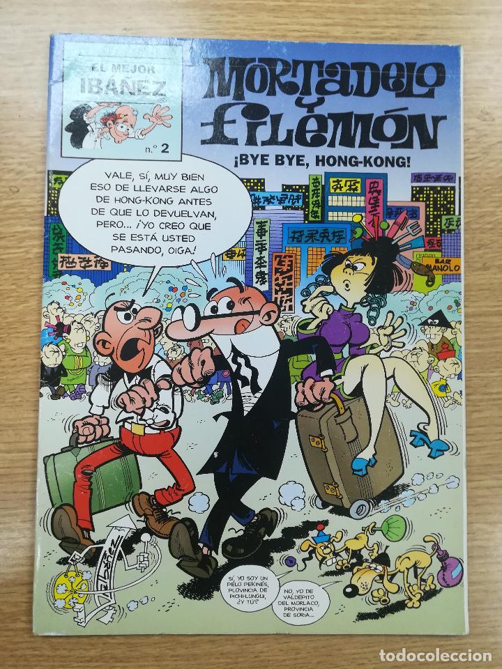 MORTADELO Y FILEMON BYE BYE HONG-KONG (EL MEJOR IBAÑEZ #2) (Tebeos y Comics - Suplementos de Prensa)