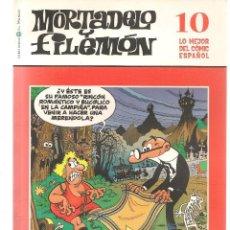 Cómics: BIBLIOTECA EL MUNDO. LO MEJOR DEL COMIC ESPAÑOL. Nº 10. MORTADELO Y FILEMÓN. (ST/S). Lote 194397620