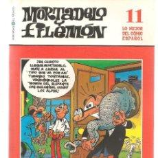 Cómics: BIBLIOTECA EL MUNDO. LO MEJOR DEL COMIC ESPAÑOL. Nº 11. MORTADELO Y FILEMÓN. (ST/S). Lote 194397732