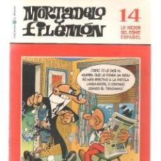 Cómics: BIBLIOTECA EL MUNDO. LO MEJOR DEL COMIC ESPAÑOL. Nº 14. MORTADELO Y FILEMÓN. (ST/S). Lote 194397825