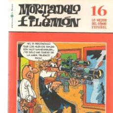 Cómics: BIBLIOTECA EL MUNDO. LO MEJOR DEL COMIC ESPAÑOL. Nº 16. MORTADELO Y FILEMÓN. (ST/S). Lote 194398950
