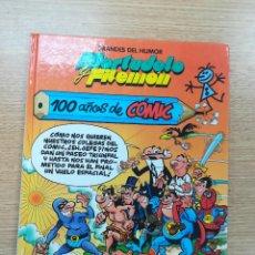 Cómics: MORTADELO Y FILEMON 100 AÑOS DE COMIC (GRANDES DEL HUMOR #4) (EL PERIODICO). Lote 194525588