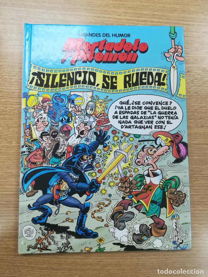 MORTADELO Y FILEMON SILENCIO SE RUEDA (GRANDES DEL HUMOR #18) (EL PERIODICO) (Tebeos y Comics - Suplementos de Prensa)