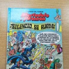 Cómics: MORTADELO Y FILEMON SILENCIO SE RUEDA (GRANDES DEL HUMOR #18) (EL PERIODICO). Lote 194525657