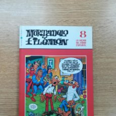 Cómics: MORTADELO Y FILEMON (BIBLIOTECA EL MUNDO - LO MEJOR DEL COMIC ESPAÑOL #8). Lote 194525693