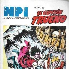 Cómics: NPI. EL TEBEO CARTAGENERO Nº 3. ESPECIAL EL CAPITÁN TRUENO. Lote 194682437