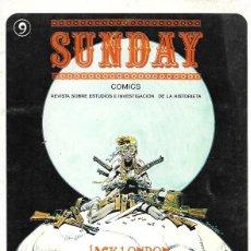 Cómics: SUNDAY. AYUSO 1976. REVISTA SOBRE ESTUDIOS E INVESTIGACIÓN DE LA HISTORIETA. Nº 9. Lote 194682438