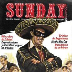 Cómics: SUNDAY. AYUSO 1976. REVISTA SOBRE ESTUDIOS E INVESTIGACIÓN DE LA HISTORIETA. Nº 12. Lote 194682448