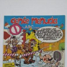 Cómics: GENTE MENDUA. 10 DE DICIEMBRE DE 1995. ABC. TDKC48. Lote 194864507