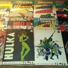 Cómics: LOS COMICS DE EL SOL. NÚMEROS DEL 1 AL 33. . Lote 195027152