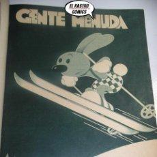 Cómics: GENTE MENUDA, LOTE CON 63 EJEMPLARES, BLANCO Y NEGRO, AÑOS 1930. TOMO, B8. Lote 195234107