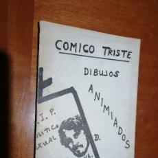Cómics: COMICO TRISTE DIBUJOS ANIMIADOS. GAMEZ QUINTANA. 1979. FIRMADO POR EL AUTOR. DIFICILISIMO. Lote 195435491