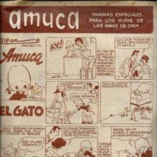 Fumetti: AMUCA - SUPLEMENTO DE AMA - CON HISTORIETAS DE HENRY, LUIS Y EL ANGEL, POPEYE, BELEN Y JAVI, ETC. Lote 197380285